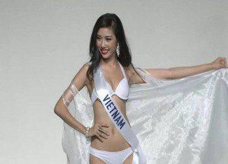 Thúy Vân trở thành á hậu 3 Hoa hậu Quốc tế 2015