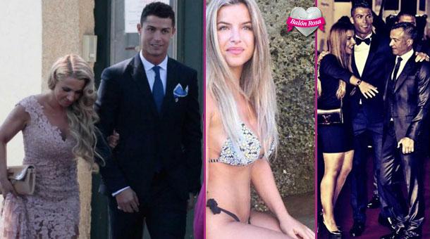 """Ronaldo tán đổ con gái """"Siêu cò"""" Mendes?"""