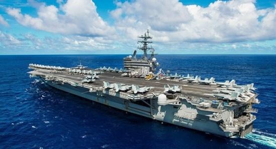 Tàu ngầm Trung Quốc tấn công giả định hàng không mẫu hạm Mỹ