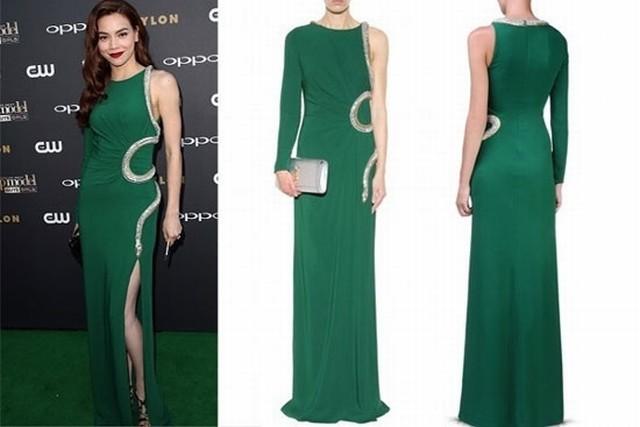 Bộ sưu tập váy gợi cảm của Hồ Ngọc Hà năm 2015
