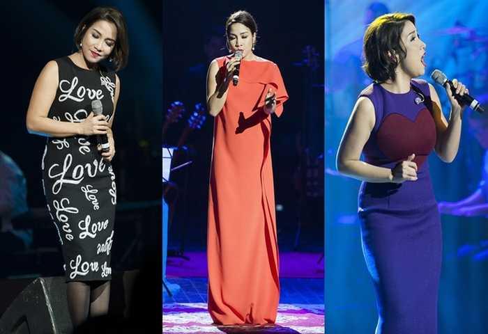 Hoàng Thùy Linh, Thúy Vân đẹp nhất tuần với váy xẻ ngực
