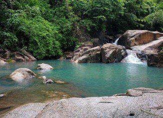 Du lịch Quảng Nam ngỡ ngàng trước vẻ hoang sơ của suối Tiên