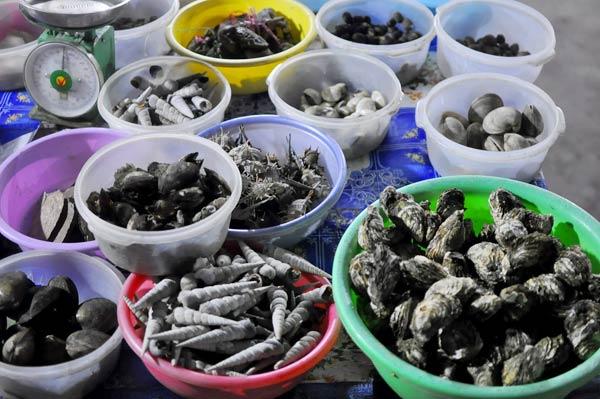 Du lịch Hạ Long thưởng thức hải sản vỉa hè