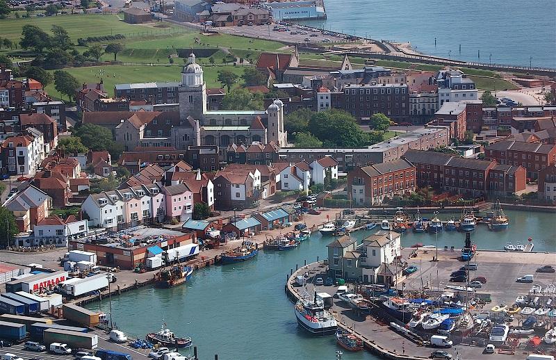 Dạo quanh ngắm thành phố cảng Portsmouth