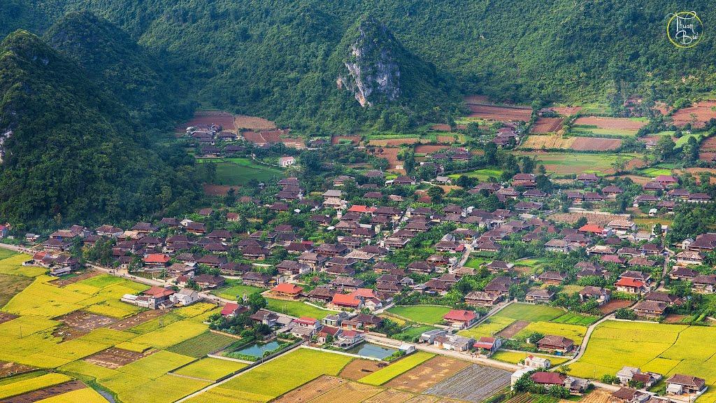 Thiên nhiên tươi đẹp của làng văn hóa Quỳnh Sơn