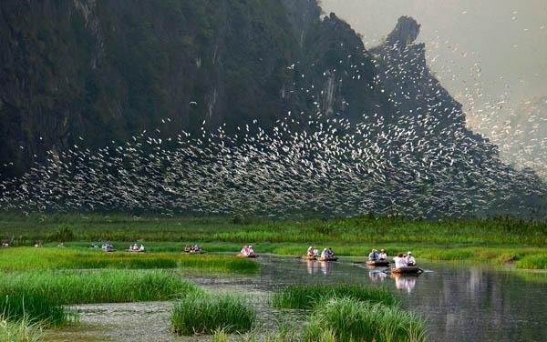Vẻ đẹp thiên nhiên kỳ vĩ của đầm Vân Long