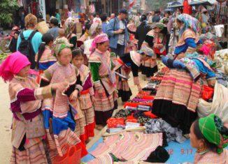 Nét đẹp độc đáo của chợ phiên Cốc Ly