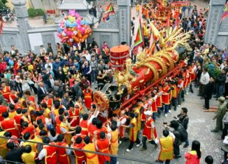 Nhộn nhịp mùa lễ hội xứ Kinh Bắc