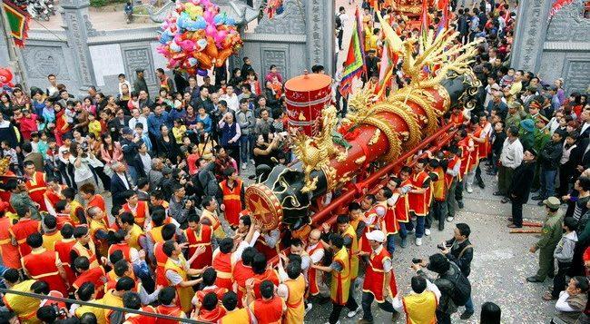Lễ rước pháo làng Đồng Kỵ - GSV Travel
