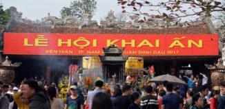 Khai ấn đền Trần - GSV Travel