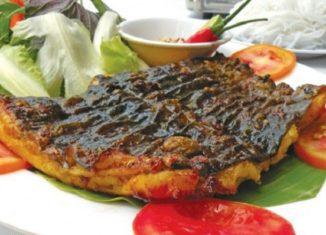 Cá leo nướng muối ớt – Đặc sản mùa nước nổi