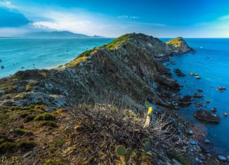 Vẻ đẹp tự nhiên đến hoang sơ của Eo Gió
