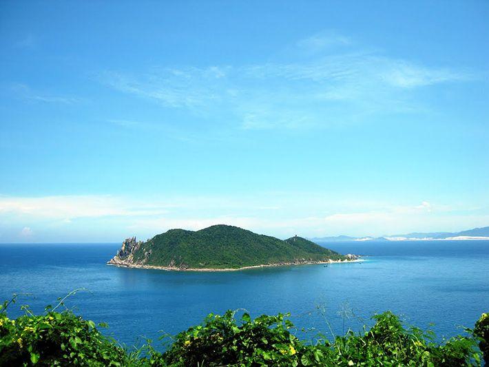 Phong cảnh hoang sơ hữu của biển Đại Lãnh