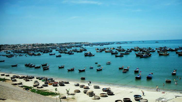 Nét đẹp bình dị của làng chài Phan Thiết