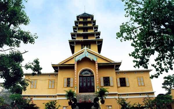 Nét thuần Việt bình dị của chùa Tam Bảo