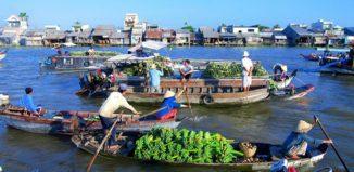 chợ nổi Cái Răng - GSV Travel