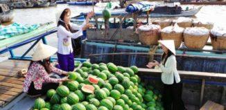 chợ nổi Trà Ôn - GSV Travel