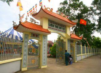 Không gian trang nghiêm thanh tịnh của chùa Liên Trì