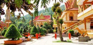 Chùa Linh Sơn Ba Thê - GSV Travel
