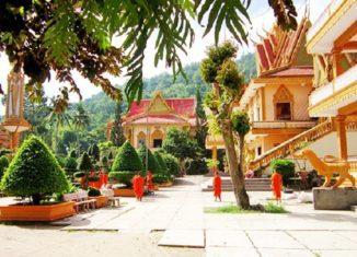 Không gian giản dị mộc mạc của chùa Linh Sơn Ba Thê