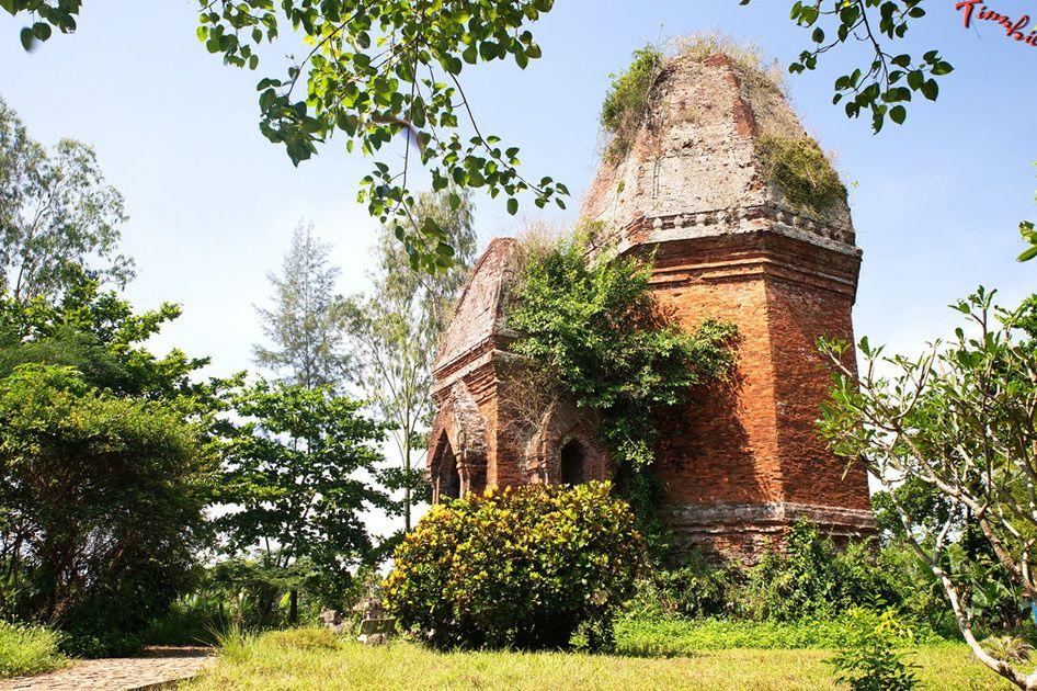 Kiến trúc độc đáo của tháp Bằng An