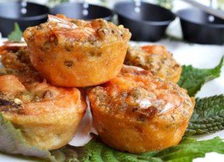 Vị ngon hấp dẫn của bánh giá Tiền Giang