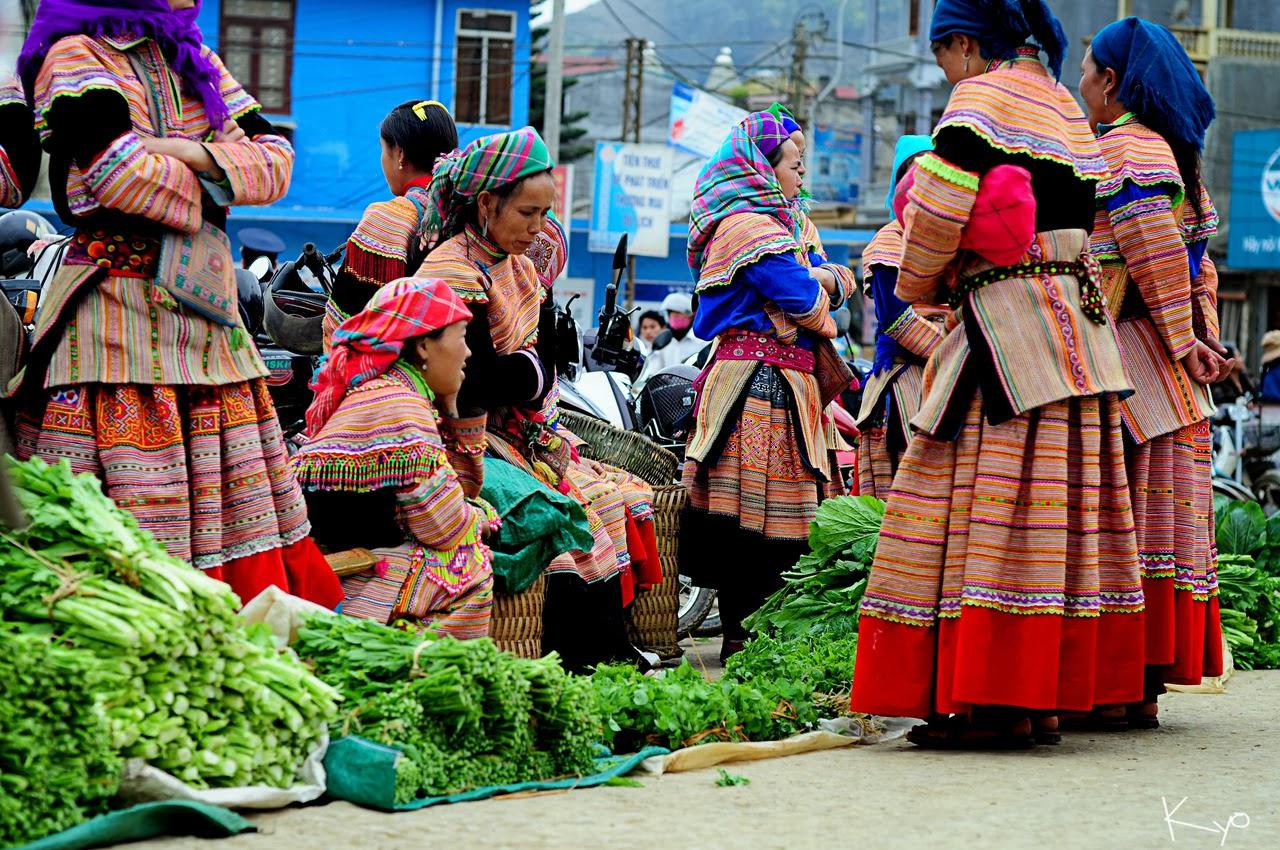 Nét giản dị mộc mạc của phiên chợ Ma Lé
