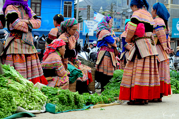 Những phiên chợ nổi tiếng của Sapa