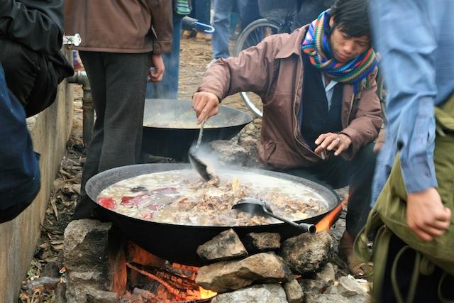 Những món ăn hấp dẫn của mảnh đất địa đầu Hà Giang