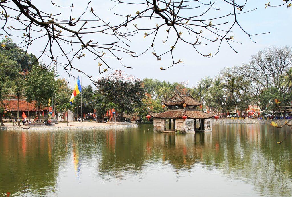 Không gian thanh tịnh mê đắm của chùa Thầy