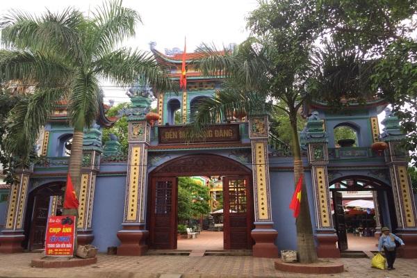 Khung cảnh thơ mộng hùng vĩ của đền Mẫu Đồng Đăng Lạng Sơn