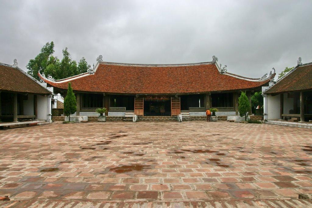 Khám phá kiến trúc cổ đặc sắc của đình Mông Phụ