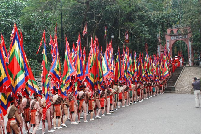 Siết chặt tình trạng chặt chém tại giỗ tổ vua Hùng 2018
