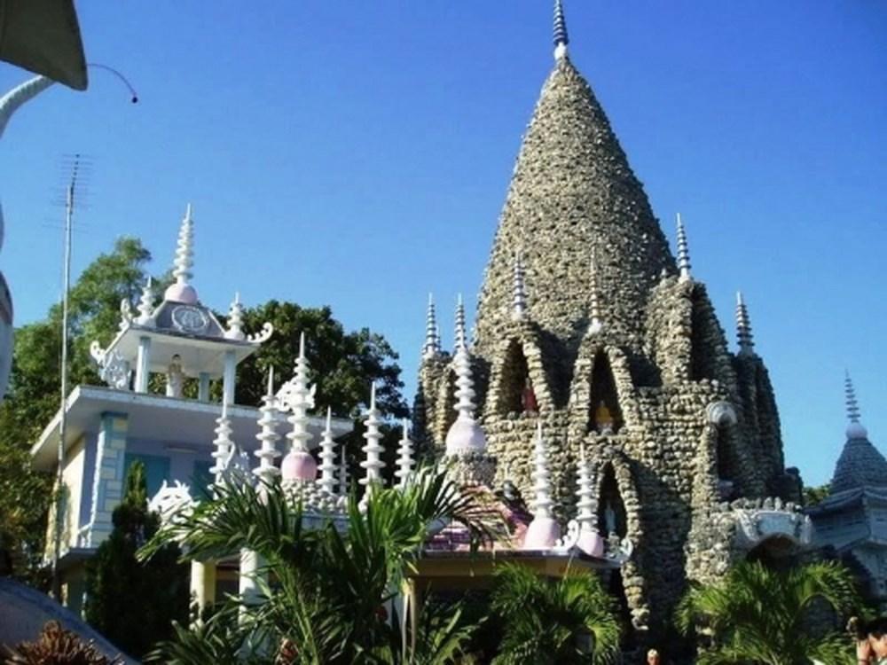 Kiến trúc mang đậm phong vị biển cả của chùa Ốc Từ Vân
