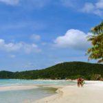 Không gian hoang sơ đầy lãng mạn của bãi tắm Sơn Hào
