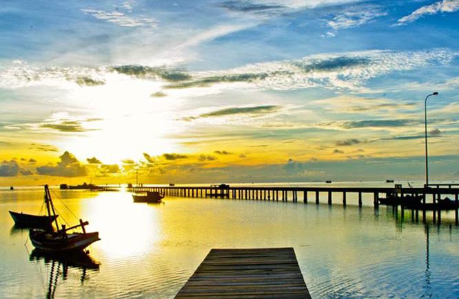 Ngẩn ngơ trước bức tranh yên bình của đảo ngọc Phú Quốc