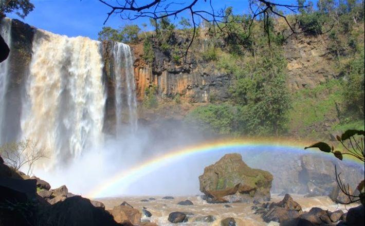 Khám phá vẻ đẹp đầy huyền bí của thác Pú Nhu