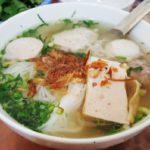 Hương vị hòa quyện đặc trưng của bún mọc Kim Sơn