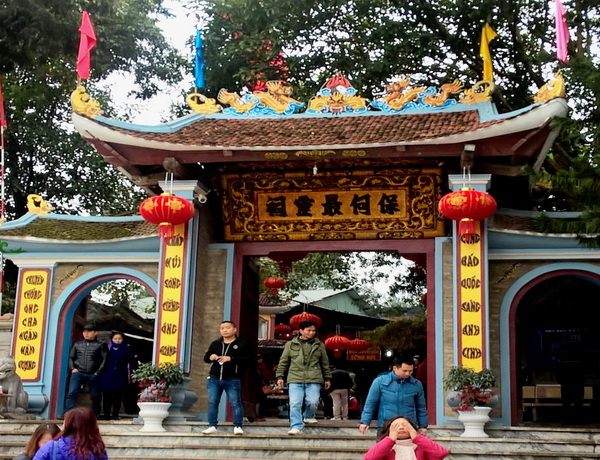 Không gian uy nghi tĩnh mặc của đền ông Hoàng Bảy Bảo Hà