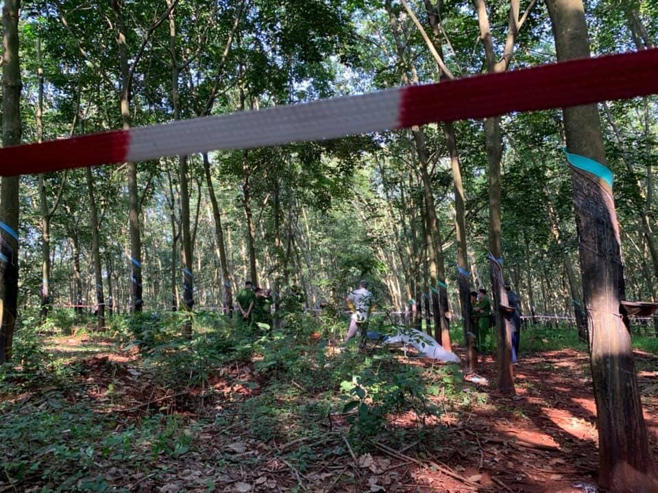 Thiếu nữ 16 tuổi bị sát hại ở rừng cao su