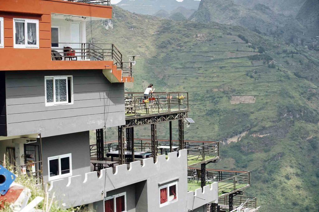 công trình Panorama sai phạm ở đèo Mã Pí Lèng